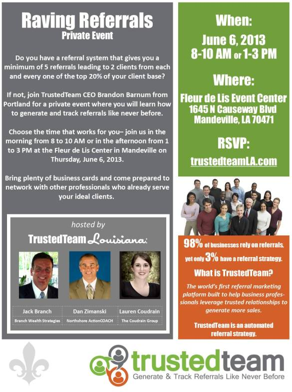 Event for Northshore Professionals